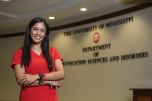 Melissa Reyes in Communication Sciences and Disorders